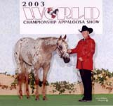 Lisa Hauth and Lexi 2003 World Show