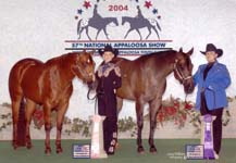 Acacia Chouteau and Kirsten Roberts 2004 Youth World Show