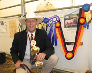Invied's owner Wiebe Lise 2001 & 2003 German National Champion